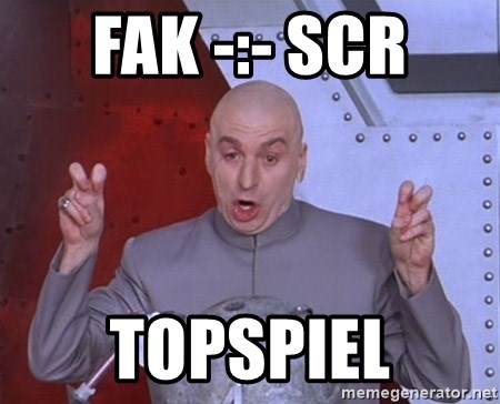 Dr. Evil Air Quotes - FAK -:- SCR Topspiel