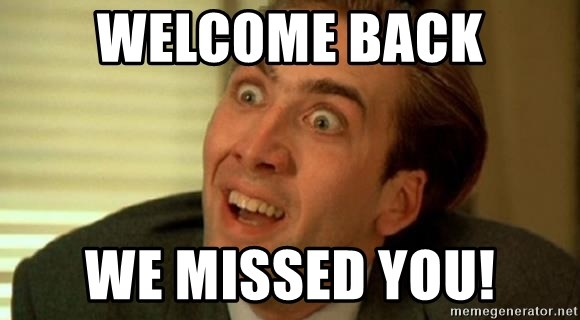 nicolas cage no me digas - WELCOME BACK WE MISSED YOU!