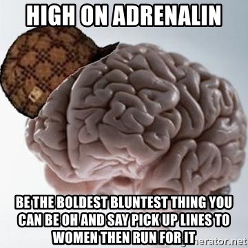 Brain pick up lines