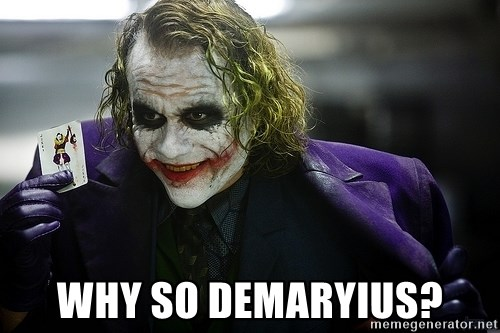 joker -  Why So Demaryius?
