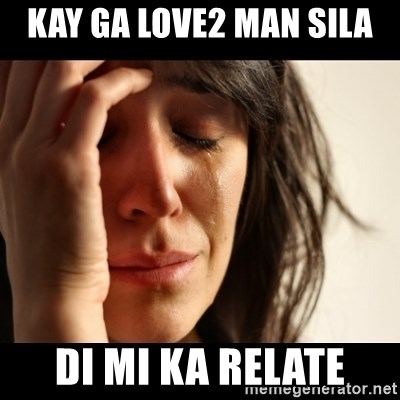crying girl sad - kay ga love2 man sila di mi ka relate