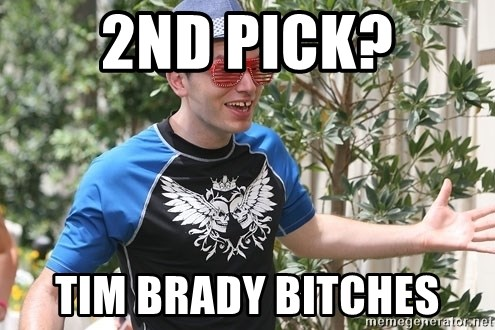 Image result for tim brady the league