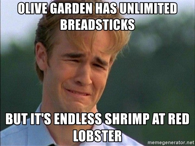 Olive Garden Has Unlimited Breadsticks But Its Endless Shrimp At