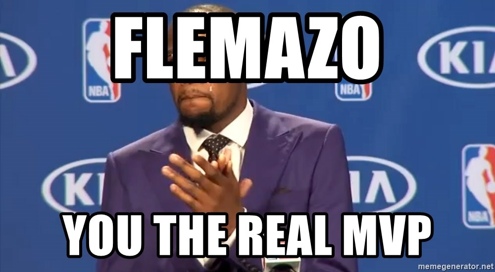 KD you the real mvp f - Flemazo you the real mvp