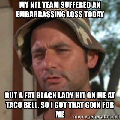 Images of the Fat Lady and the NFL