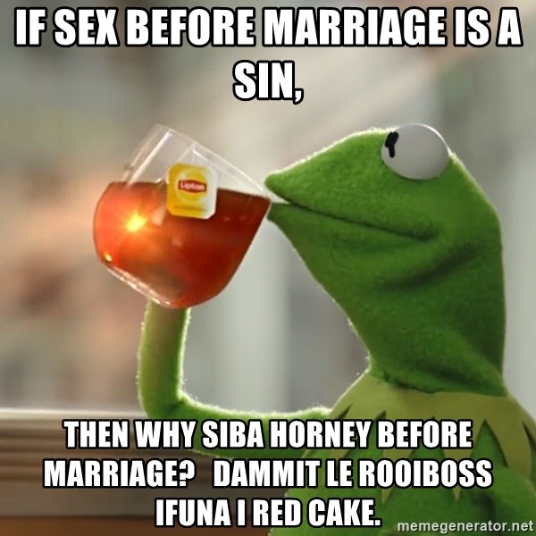 sin sex before marriage