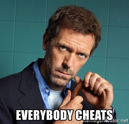Gregory House M.D. - Everybody Cheats