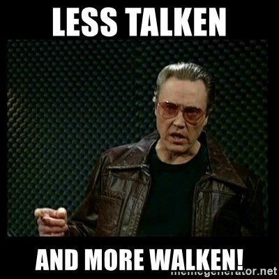 Christopher Walken Cowbell - Less Talken And More Walken!