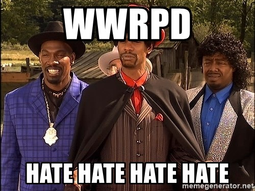 Dave Chappelle Player Haters - wwrpd hate hate hate hate