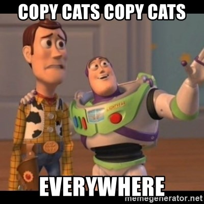 X, X Everywhere  - Copy Cats Copy Cats  Everywhere
