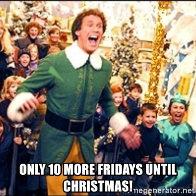 How Many Fridays Till Christmas 2021 How Many Fridays Until Christmas From Today