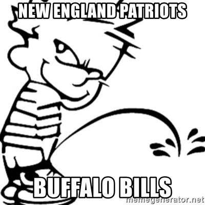 Piss on buffalo excited too