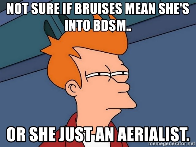 Is she into bdsm