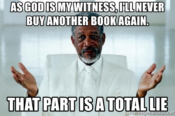 Morgan Freeman God - As God is my witness, I'll never buy another book again. that part is a total lie