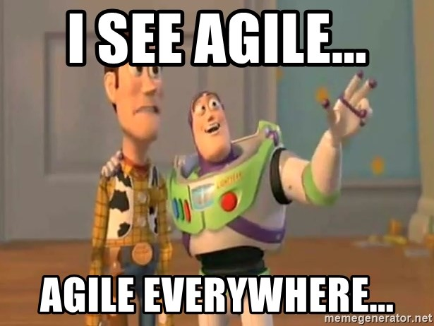 X, X Everywhere  - I see Agile... Agile everywhere...