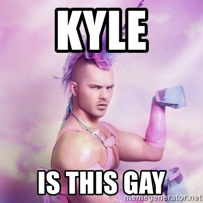Is kyle gay