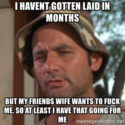 wife wants to be friends