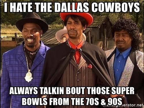 Dave Chappelle Player Haters - I hate the Dallas cowboys always talkin bout those super bowls from the 70s & 90s