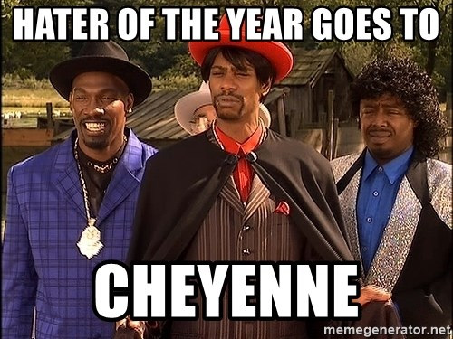 Dave Chappelle Player Haters - Hater of the year goes to Cheyenne