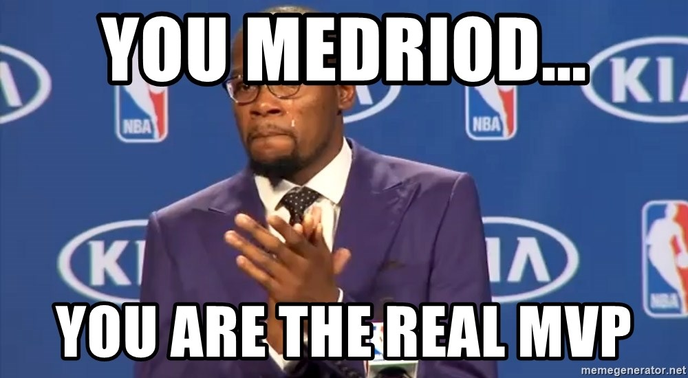 KD you the real mvp f - You MeDrioD... You are the real MVP