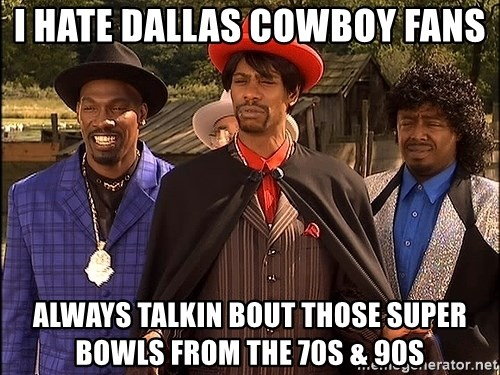 Dave Chappelle Player Haters - I Hate Dallas Cowboy fans always talkin bout those super bowls from the 70s & 90s