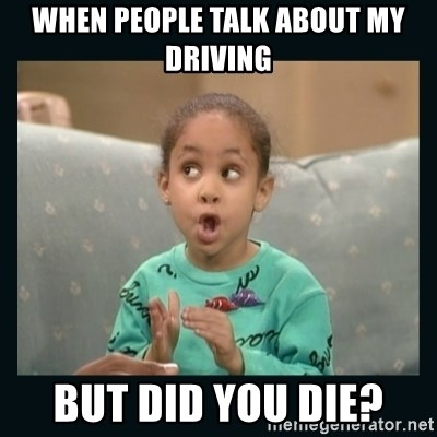 Raven Symone - When people talk about my driving But did you die?