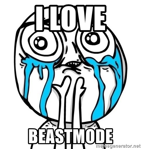 CuteGuy - I LOVE BEASTMODE