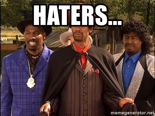 Dave Chappelle Player Haters - Haters...