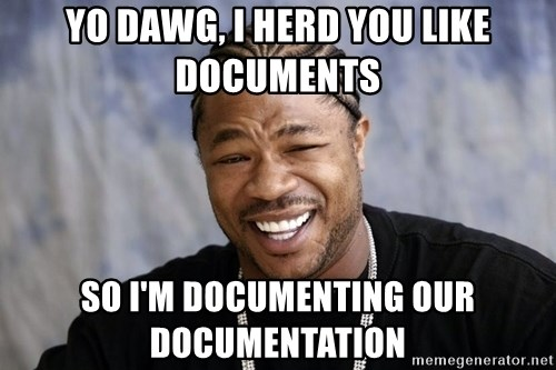 Yo Dawg You let Facebook pimp your phone - Yo dawg, i herd you like documents so I'm documenting our documentation