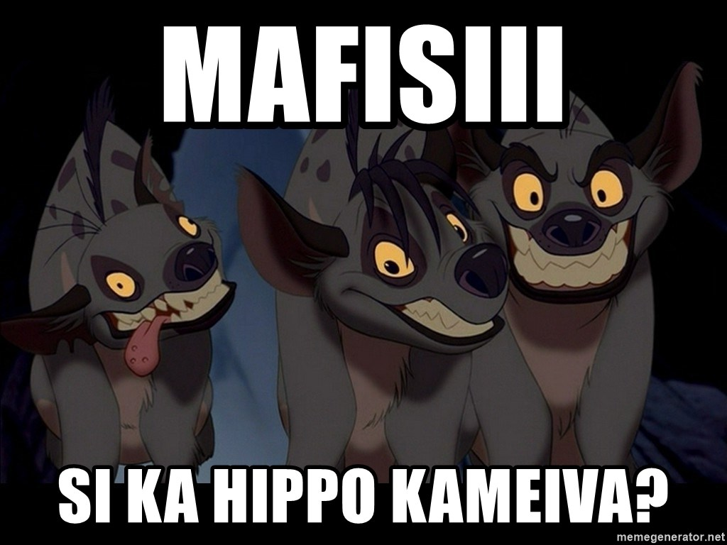 Three Hyenas from Lion King - MAFISIII SI KA HIPPO KAMEIVA?