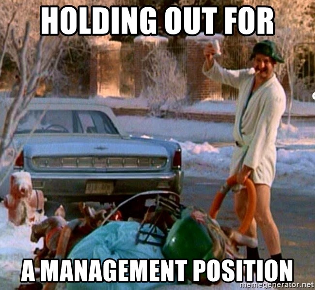 holding out for a management position cousin eddie meme generator