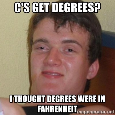 c s get degrees i thought degrees were in fahrenheit stoner