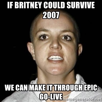 56936759 if britney could survive 2007 we can make it through epic go live