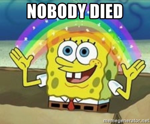 Image result for nobody died spongebob