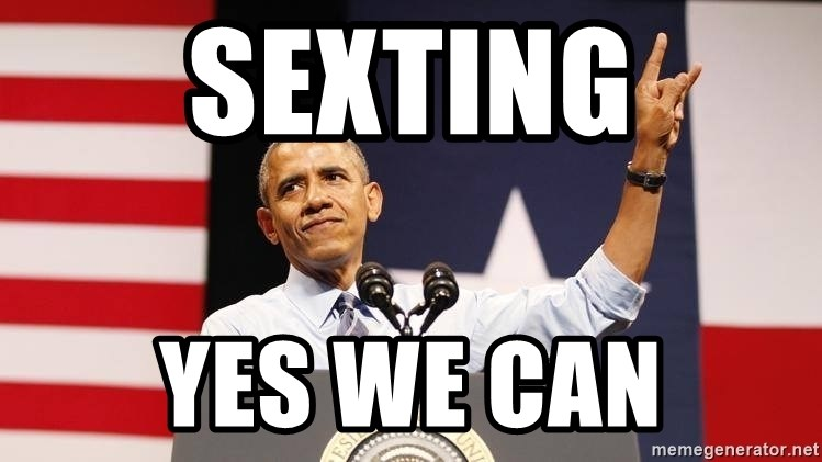 yes we can - Sexting YES WE CAN
