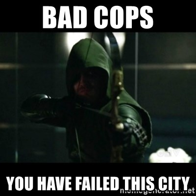 YOU HAVE FAILED THIS CITY - bad cops YOU HAVE FAILED THIS CITY