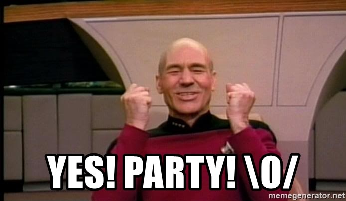 Yes Party O Jean Luc Picard Full Of Win No Text Meme Generator