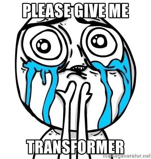 CuteGuy - Please give me Transformer