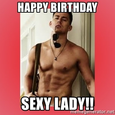 happy birthday sexy lady images
