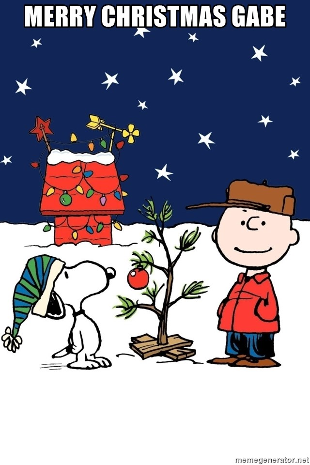 merry christmas gabe charlie brown christmas meme generator - Merry Christmas Meme Generator