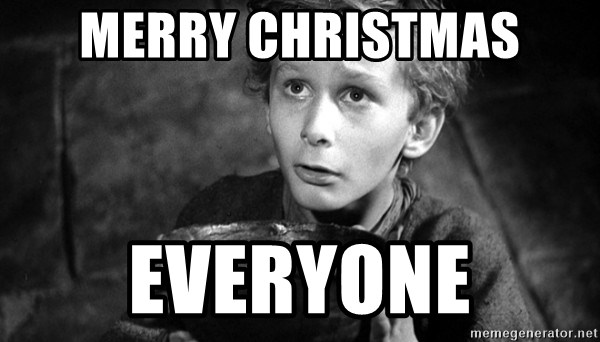 merry christmas everyone tiny tim meme generator - Merry Christmas Meme Generator