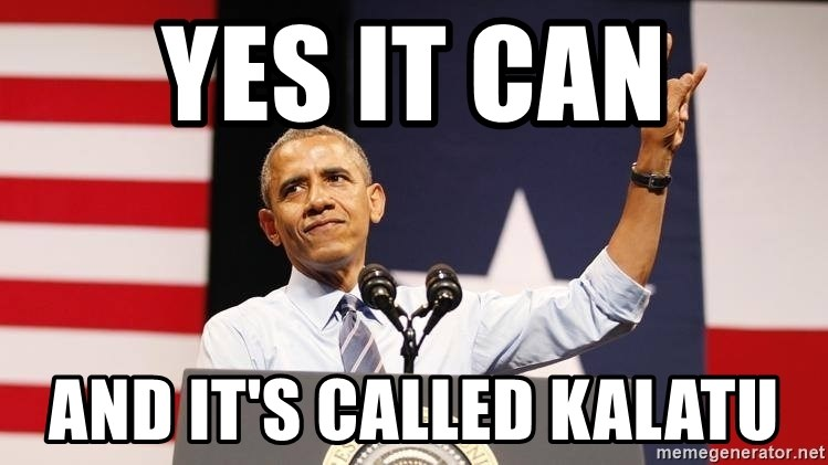 yes we can - Yes it can and it's called KALATU