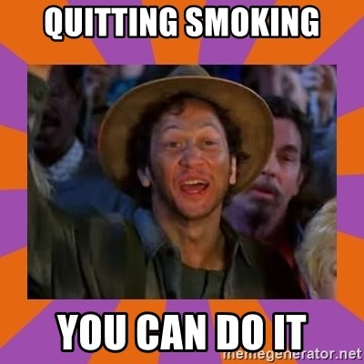 Rob Schneider - quitting smoking you can do it