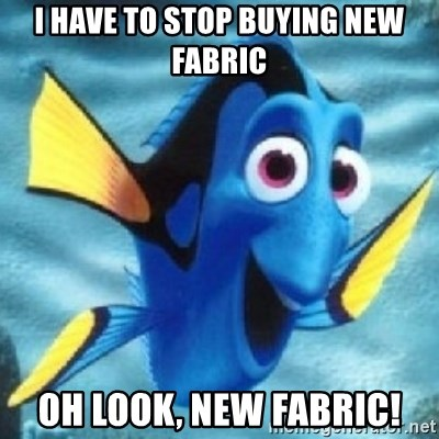 Dory - I have to stop buying new fabric Oh look, new fabric!