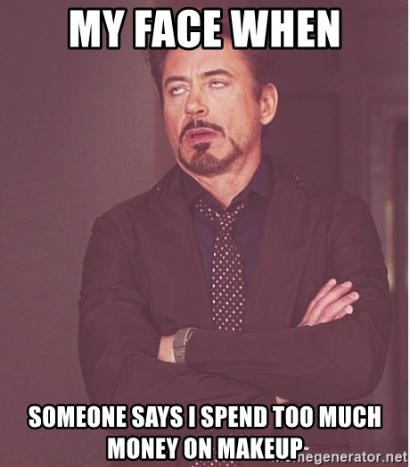 Someone says I spend too much money