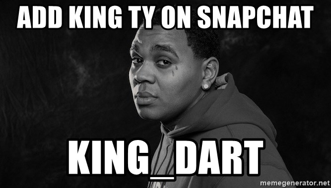 What is kevin gates snapchat