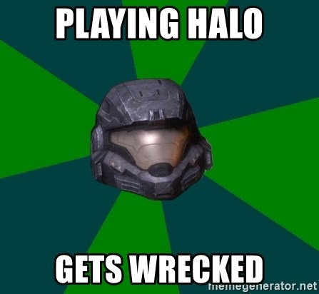 Halo Reach - playing halo gets wrecked
