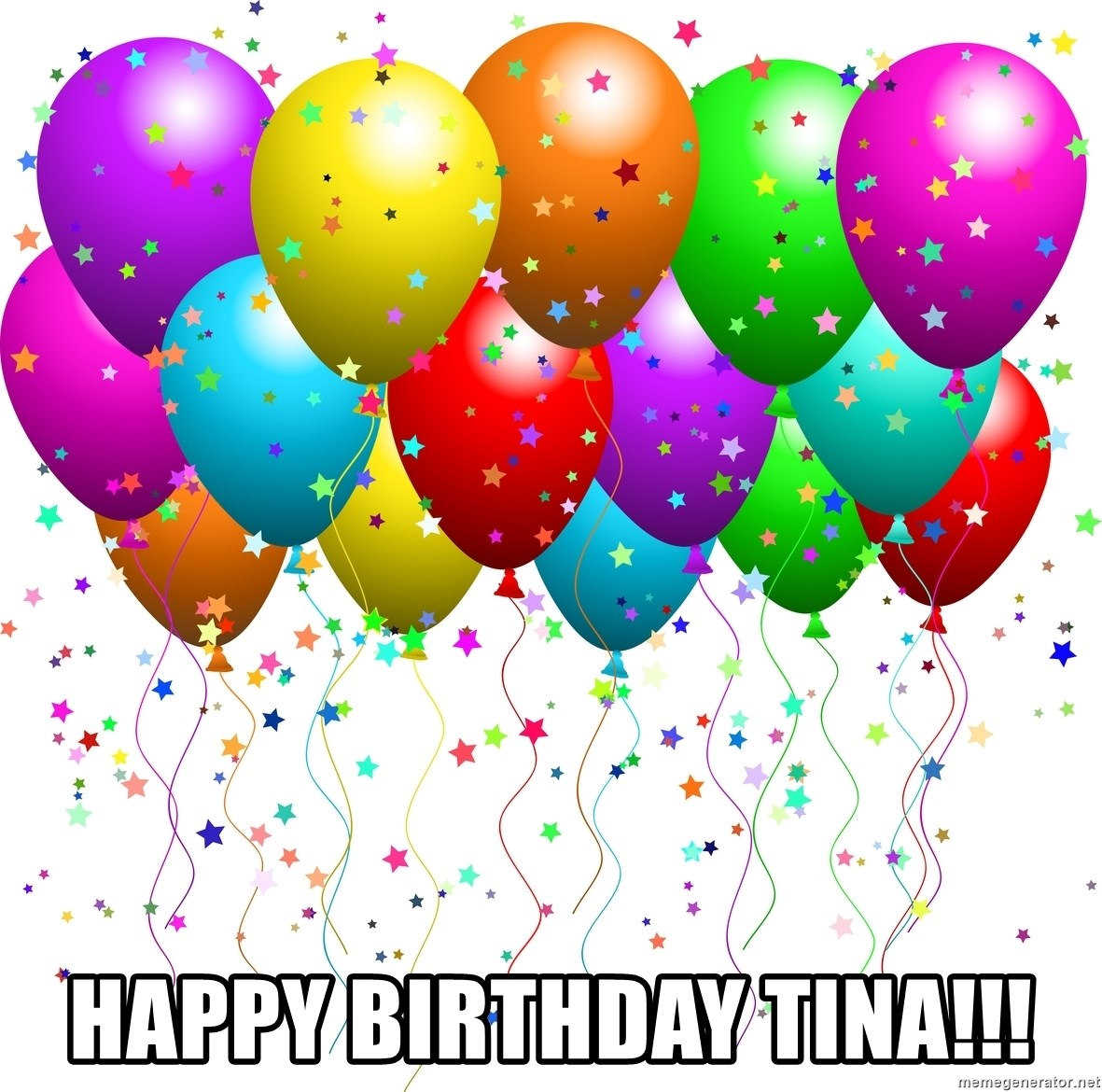balloons - Happy birthday Tina!!!