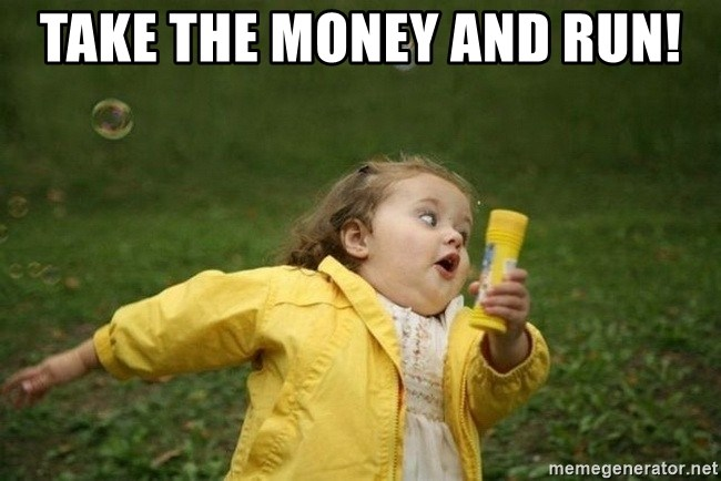 Image result for little girl money meme
