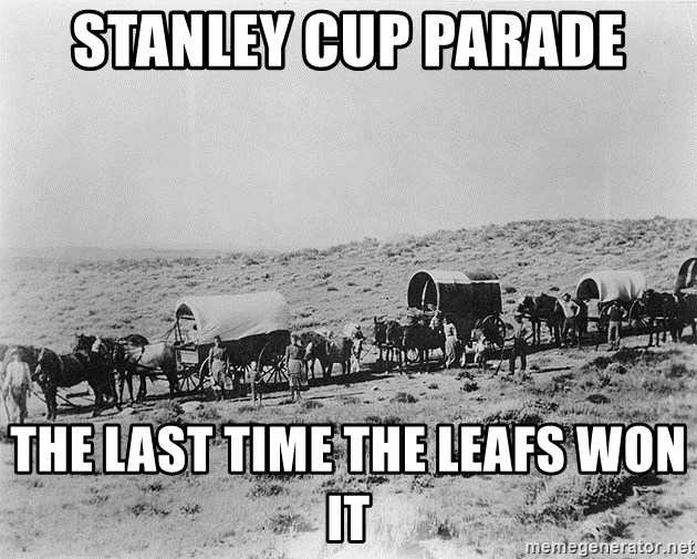 What was the last year the Toronto Maple Leafs won the ...